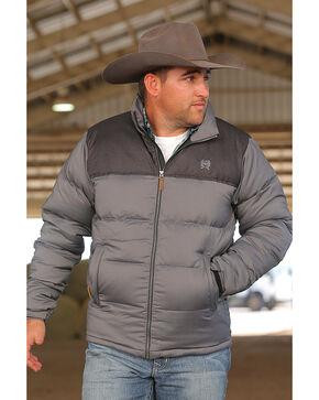 Cinch Men's Grey Lightweight Puffer Jacket , Grey, hi-res