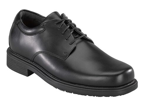Rockport Works Work Up 5-Eye Dress Work Shoes, Black, hi-res