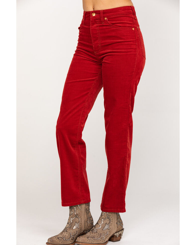 Wrangler Modern Women's Heritage Sun Dried Tomato Slim Jeans, Orange, hi-res