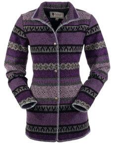 Outback Trading Co. Women's Purple Moree Jacket, Purple, hi-res