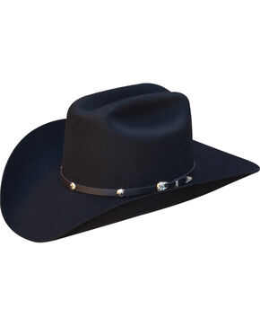 Silverado Men's Ike Cattleman Hat  , Black, hi-res