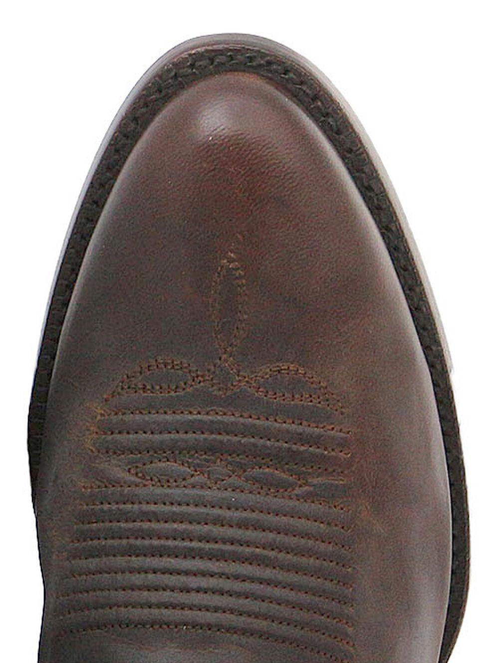 El Dorado Handmade Distressed Goat Cowboy Boots - Round Toe, , hi-res
