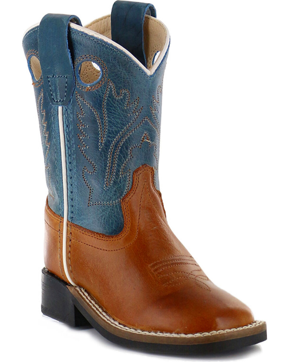 Cody James Toddler Boys' Western Boots - Square Toe , Brown, hi-res