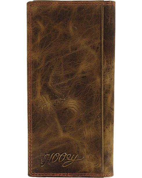 HOOey Men's Signature Rodeo Wallet, Brown, hi-res