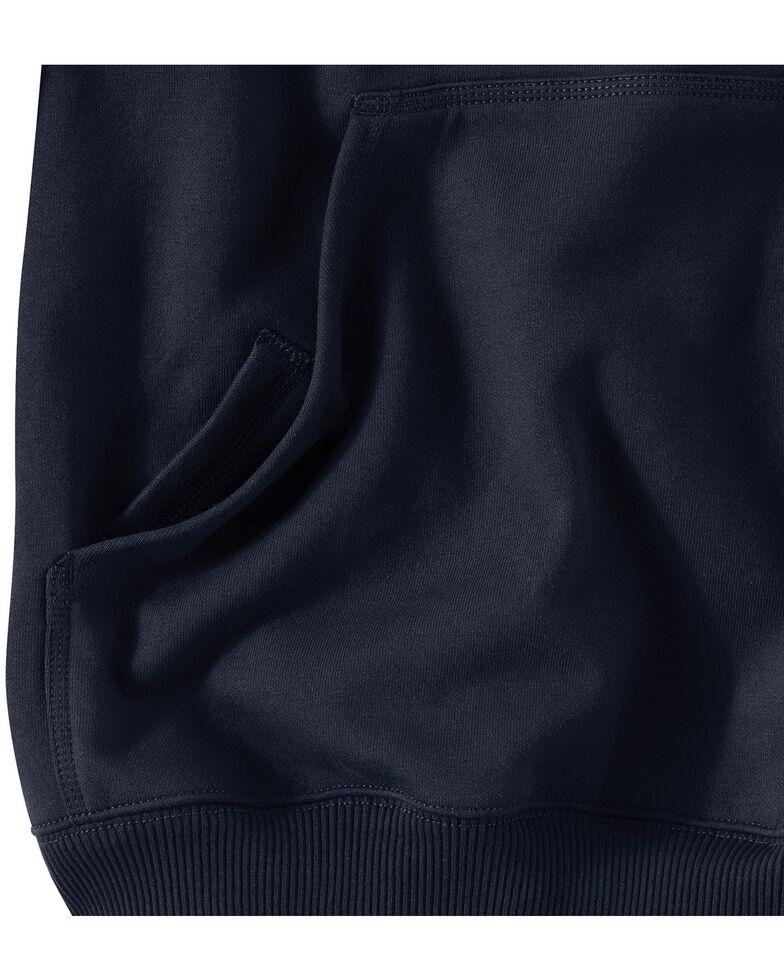 Carhartt Rain Defender Paxton Heavyweight Hooded Sweatshirt - Big & Tall, Navy, hi-res