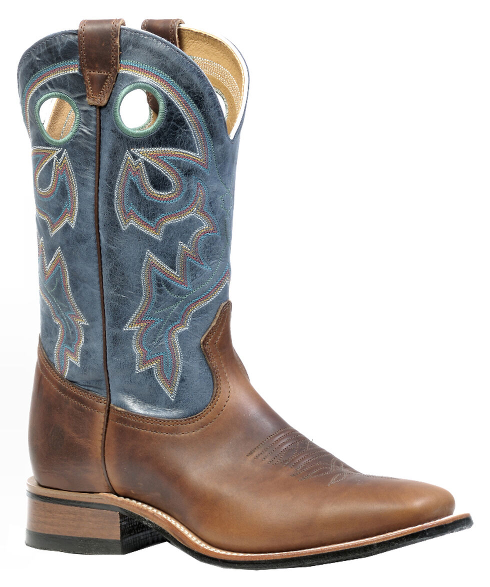 Boulet Grizzly Sand Rider Sole Boots - Square Toe, Sand, hi-res