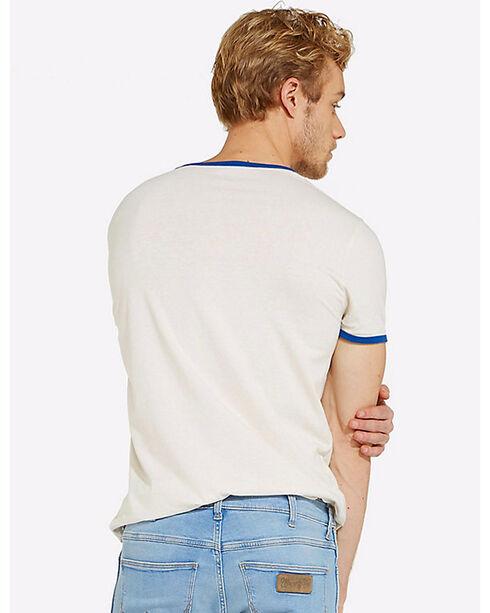 Wrangler Men's White Retro Glory Logo T-Shirt , White, hi-res