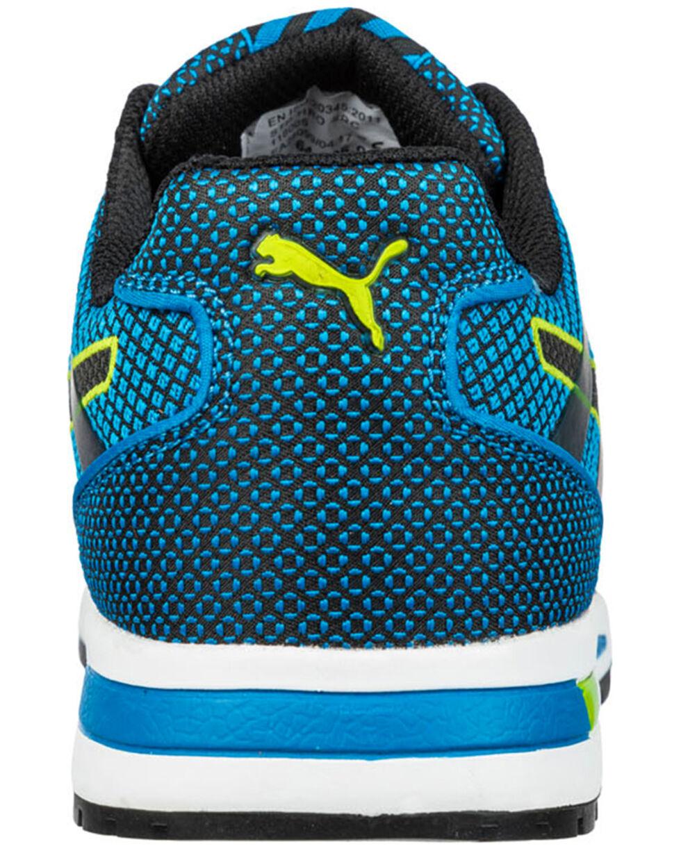 Puma Men's Blue Blaze EH Low Work Shoes - Composite Toe , , hi-res
