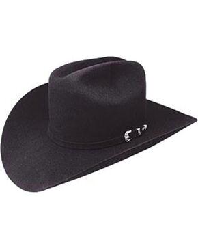 Resistol Men's Midnight 4X Felt Cowboy Hat , Black, hi-res