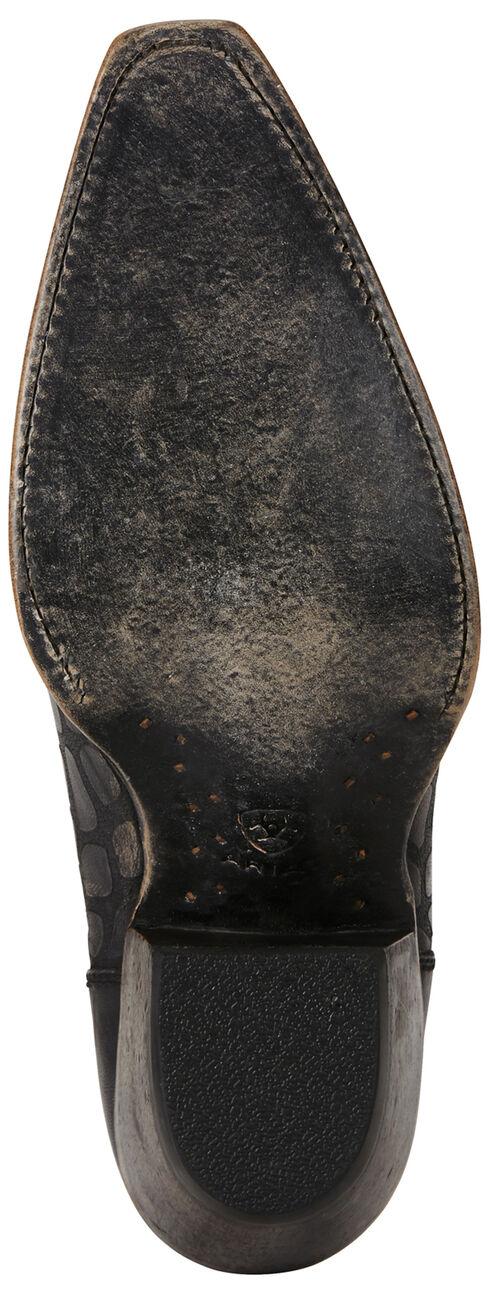 Ariat Women's Black Snake Print Benita Boots - Snip Toe, Black, hi-res