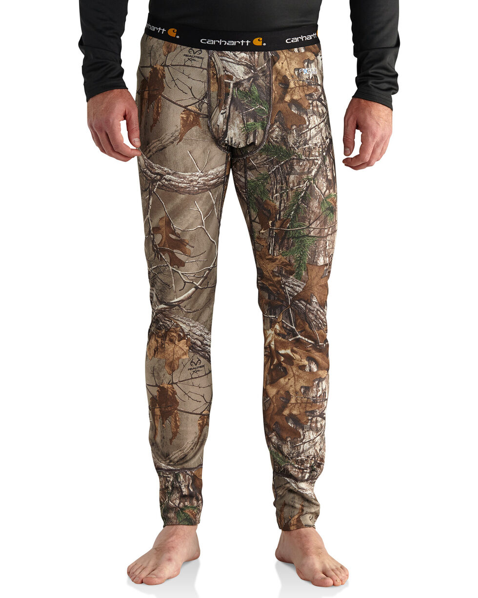 Carhartt Men's Camo Base Force Extremes Cold Weather Bottoms - Big, Camouflage, hi-res