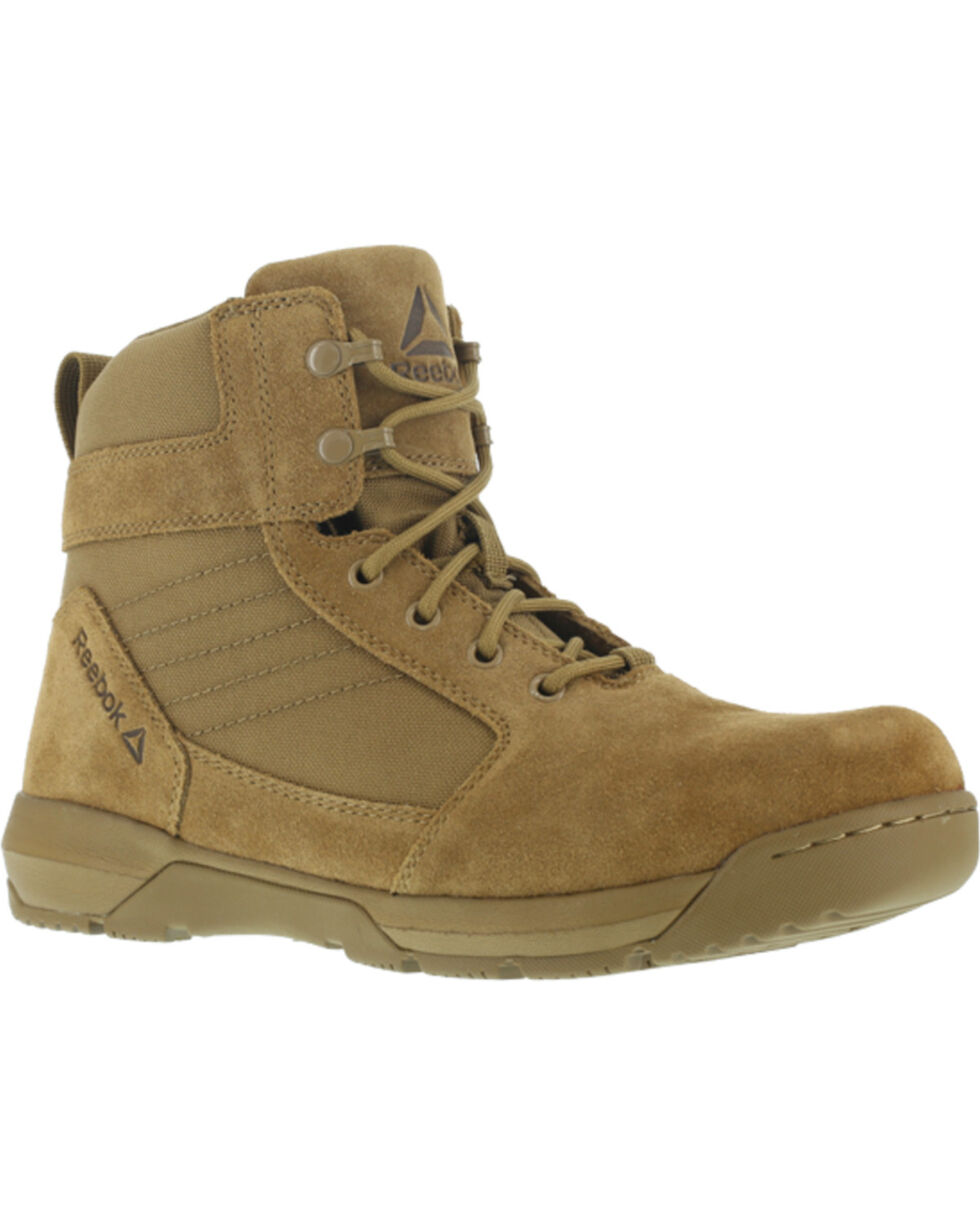 "Reebok Men's Tan Strikepoint 6"" Tactical Boots - Round Toe , Tan, hi-res"
