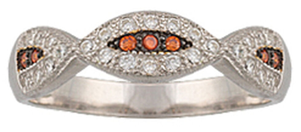 Montana Silversmiths Women's River Lights Treasure in the Sand Ring, Silver, hi-res