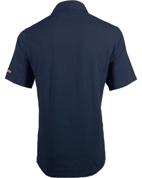 Timberland Pro Men's Short Sleeve Wicking Polo Shirt, Blue, hi-res