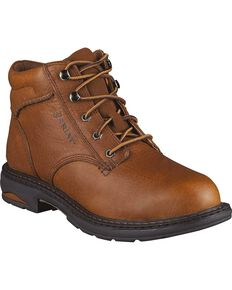 Ariat Women's Macey Work Boots - Composite Toe, Peanut, hi-res