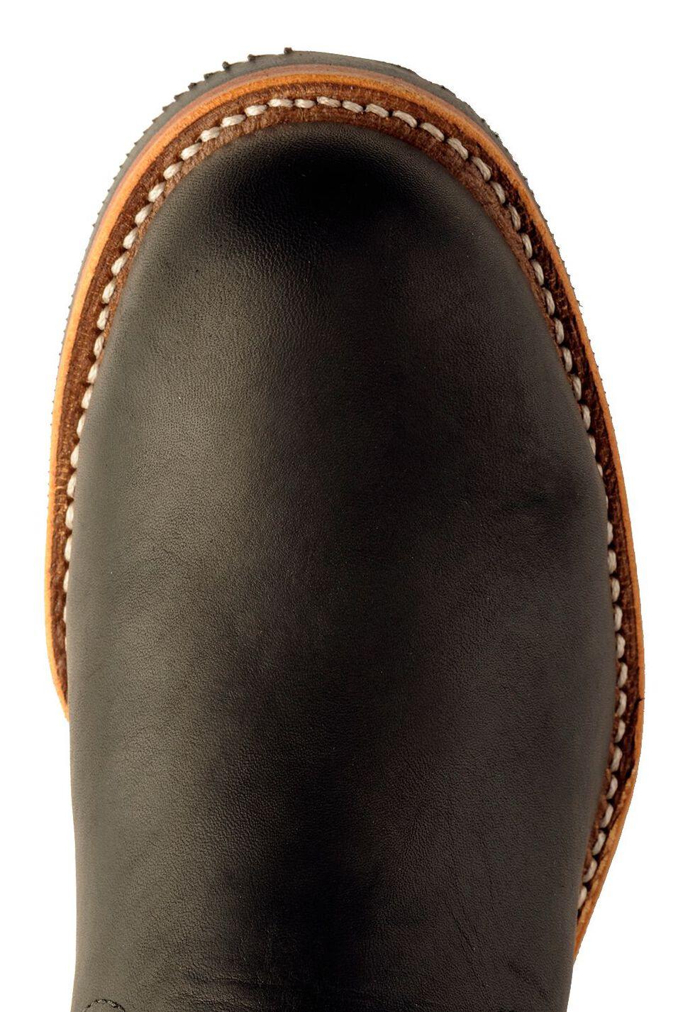 Chippewa Engineer Boots - Steel Toe, Black, hi-res