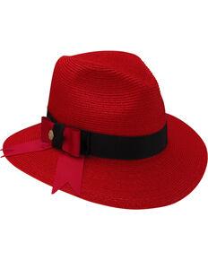 7ae86569caa89 Stetson Women s Cat s Meow Hemp Braid Fedora Hat