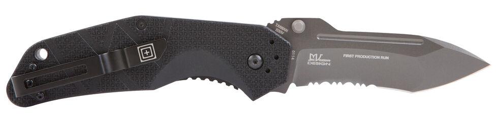 5.11 Tactical RFA Combo Assisted Opener Knife, Black, hi-res