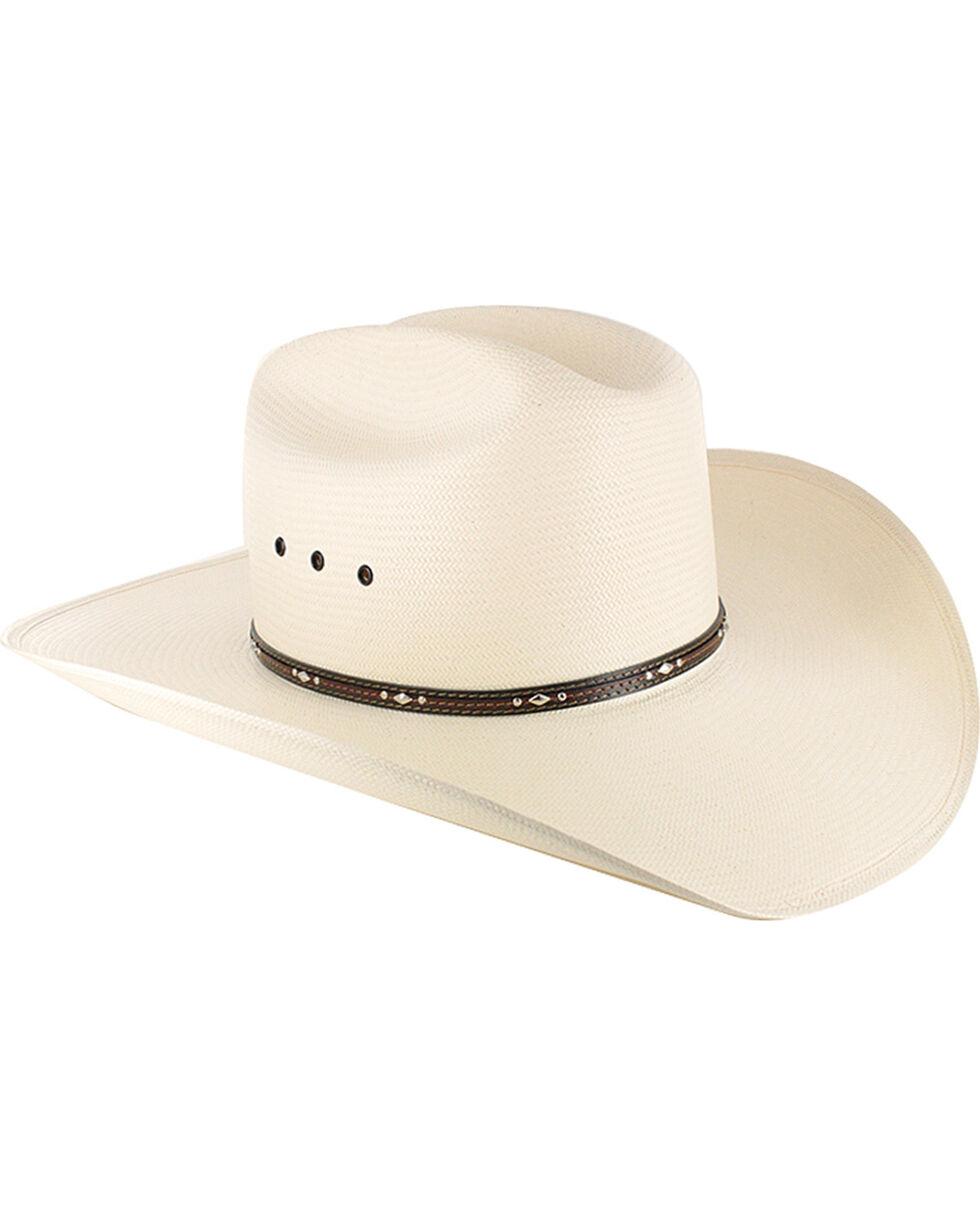 Resistol George Strait Men's Kingman 10X Straw Hat, Natural, hi-res