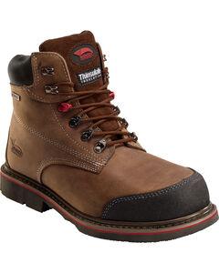 Avenger Men's Waterproof Insulated Work Boots - Composite Toe, Brown, hi-res