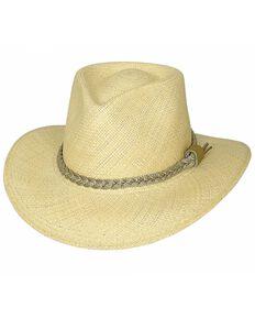 Bullhide Cape Coral Panama Straw Cowgirl Hat, Natural, hi-res