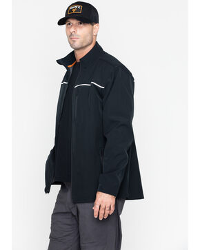 Hawx® Men's Soft-Shell Work Jacket - Big & Tall , Black, hi-res