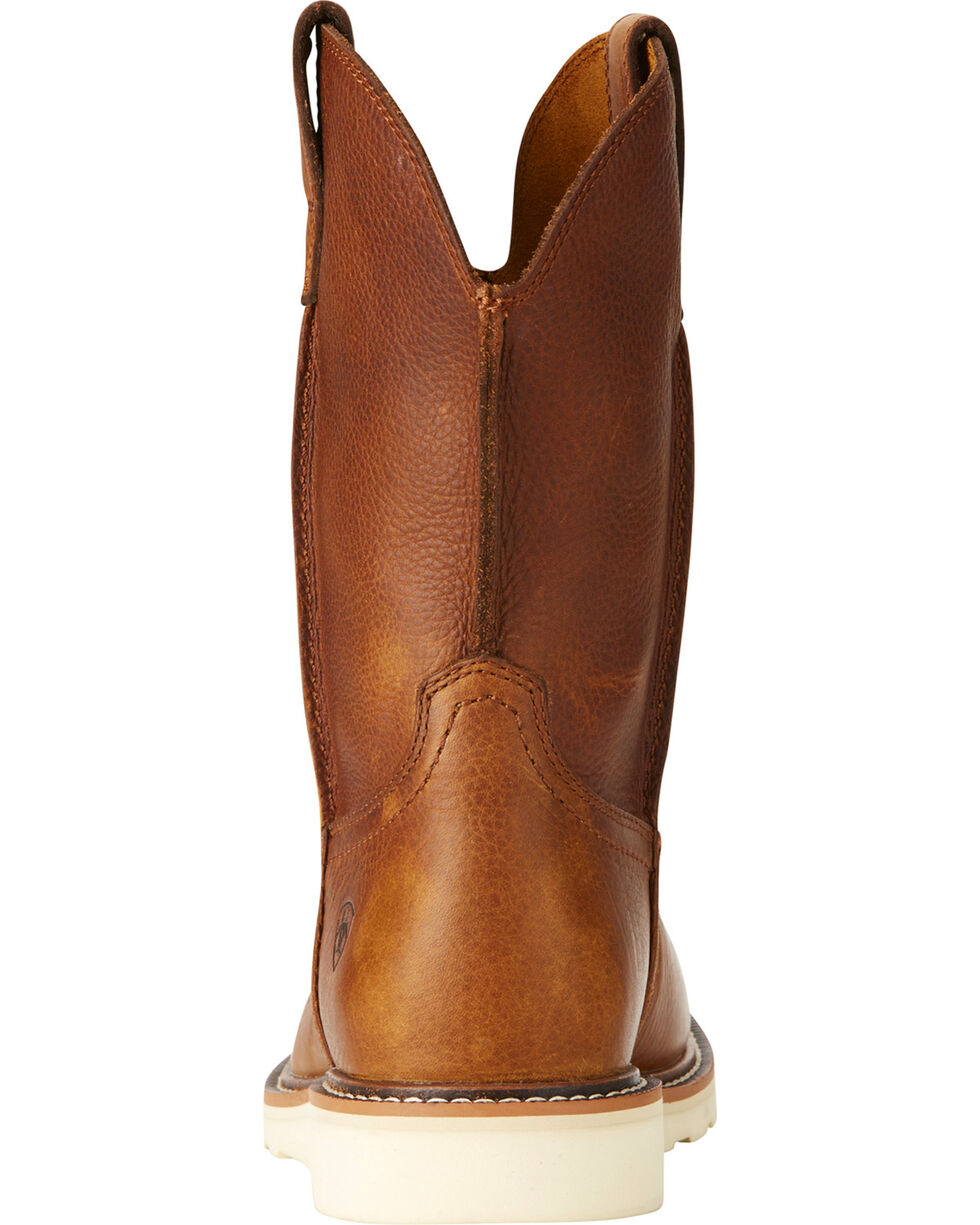 Ariat Men's Rambler Recon Golden Grizzly Western Boots - Round Toe, Brown, hi-res