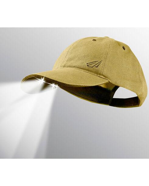 Powercap by Panther Vision Men's Khaki LED Lit Hat , Camouflage, hi-res