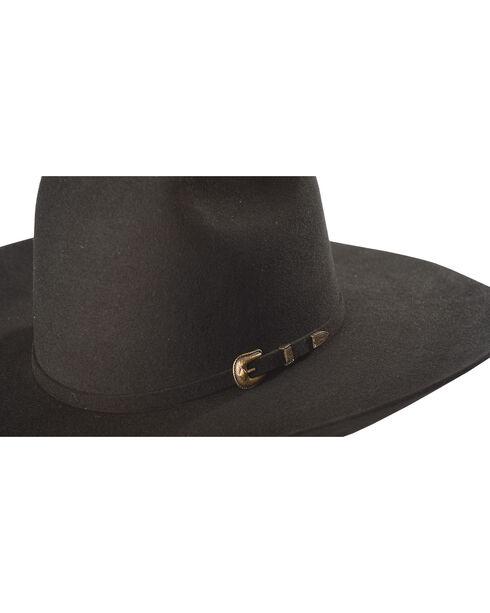 Resistol Men's Black Pay Window 3X Wool Hat , Black, hi-res