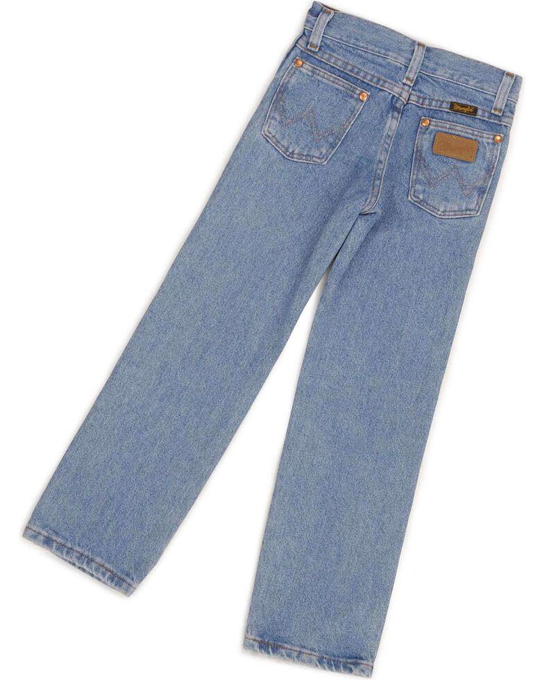 Wrangler jeans - Cowboy Cut - 8-18, Stonewash, hi-res