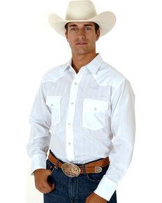 9504b576cc Roper Mens Tone On Tone Long Sleeve Western Shirt