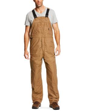 Ariat Men's FR Insulated Bib 2.0 Overalls - Big, Beige/khaki, hi-res
