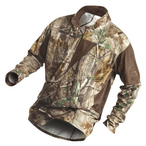 Rocky Men's SilentHunter 1/4-Zip Camo Shirt, Camouflage, hi-res
