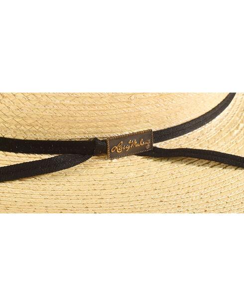 Larry Mahan Men's Natural Cowboy Palm Cowboy Hat , Natural, hi-res