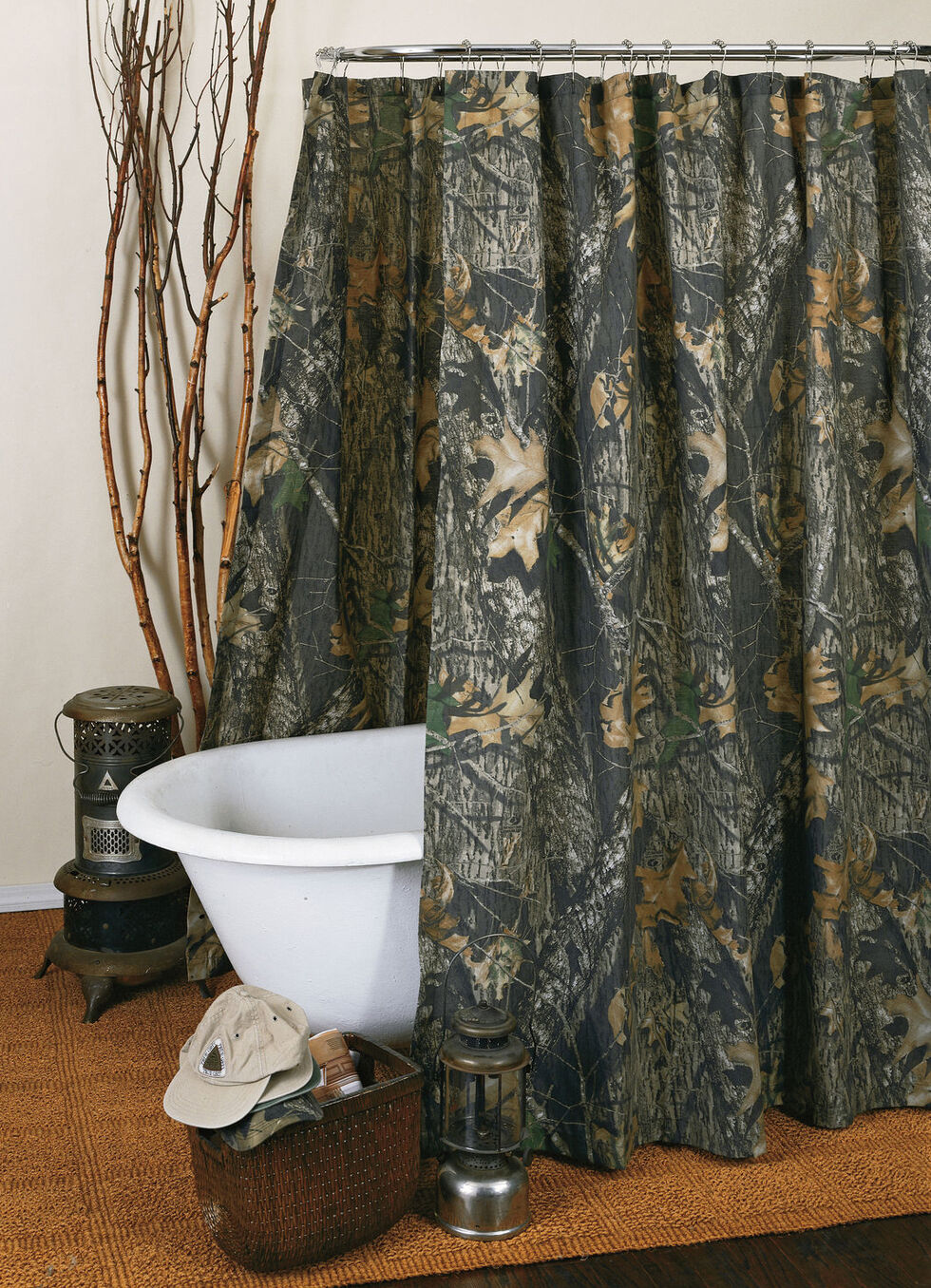 Mossy Oak New Break Up Shower Curtain, Camouflage, hi-res