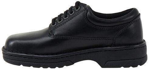 Eastland Women's Black Plainview Oxfords , Black, hi-res