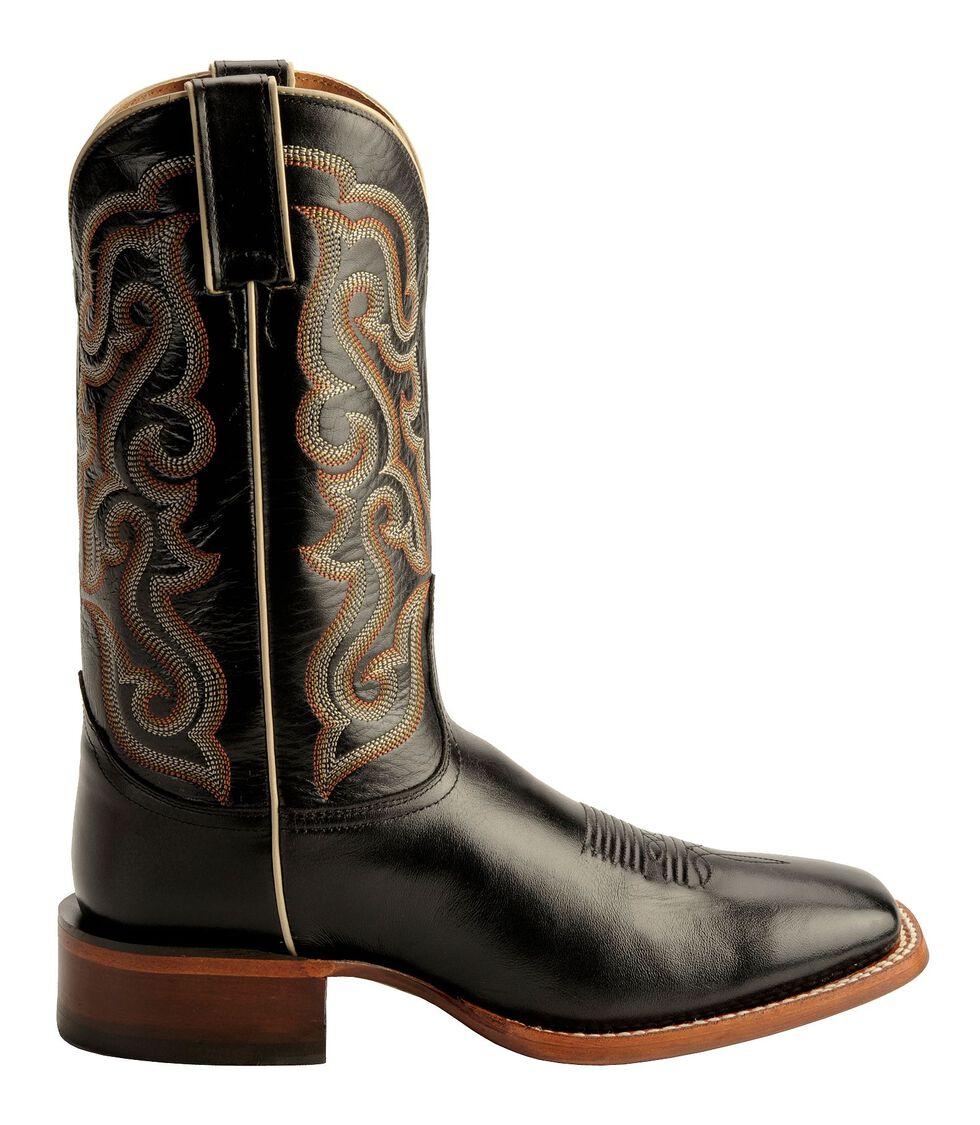 Nocona Calfskin Leather Cowboy Boots - Square Toe, , hi-res