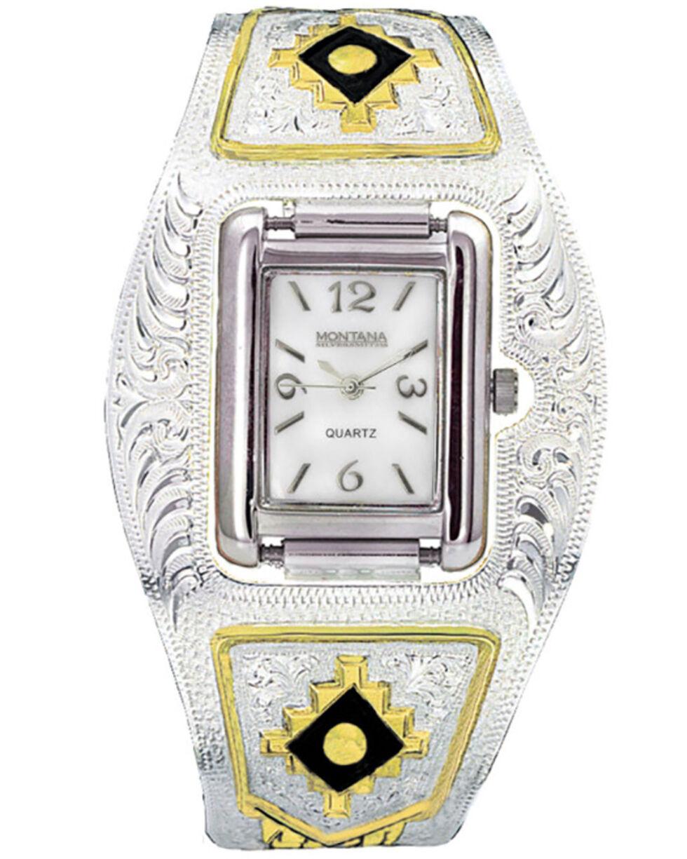 Montana Silversmiths Southwest Cuff Watch, Multi, hi-res
