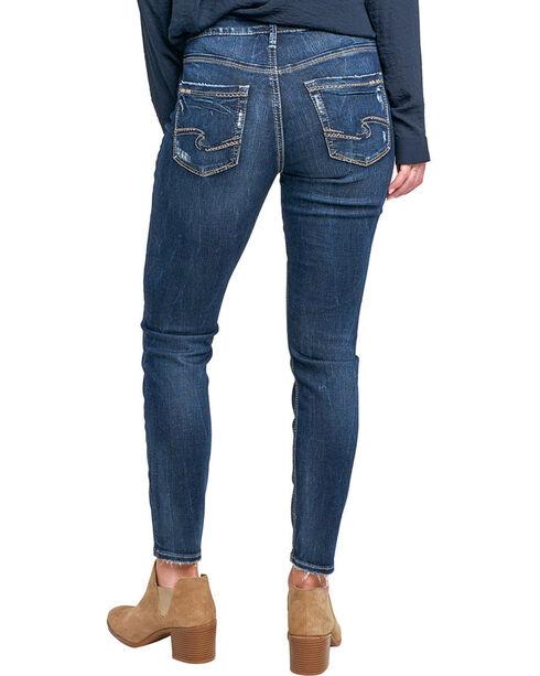 Silver Women's Avery Ankle Jeans - Skinny Leg, Indigo, hi-res
