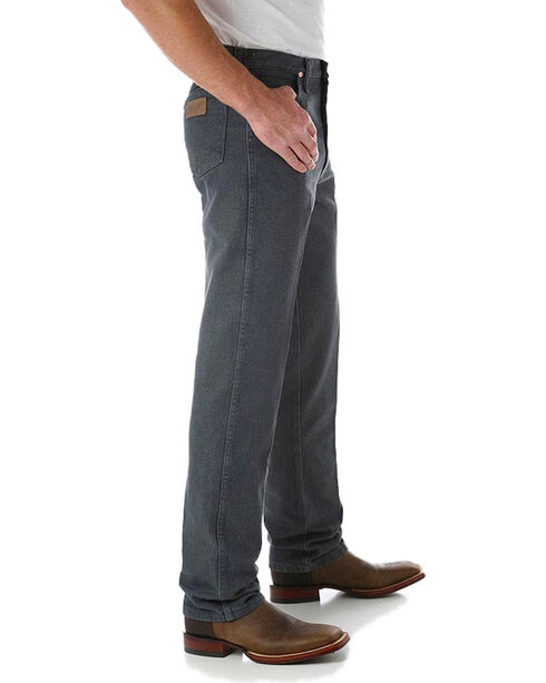 Wrangler Jeans - 13MWZ Original Fit Prewashed Colors - Tall, Charcoal Grey, hi-res