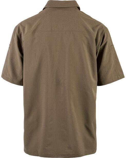 5.11 Tactical Men's Freedom Flex Woven Short Sleeve Shirt, Slate, hi-res