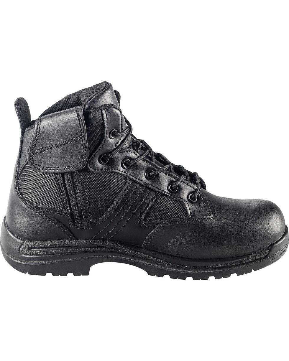 Avenger Men's Side-Zip Work Boots - Composite Toe, Black, hi-res