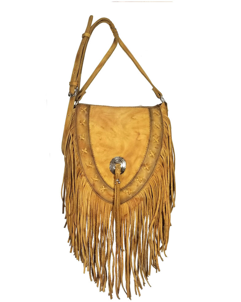 Kobler Leather Women's Lubbock Crossbody Bag, Tan, hi-res