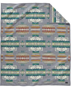 Pendleton Grey Chief Joseph Blanket , Grey, hi-res