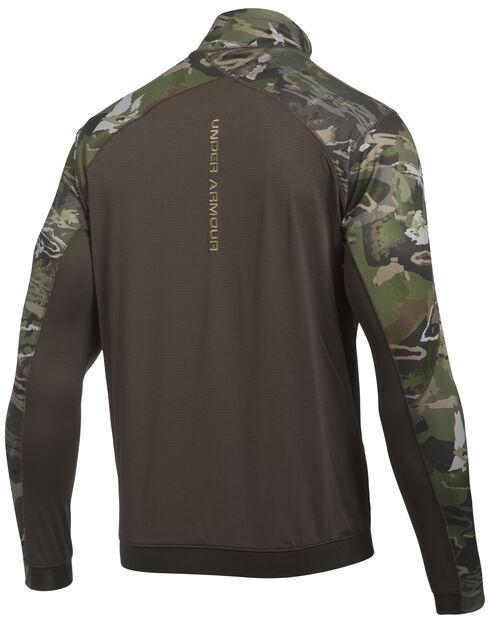 Under Armour Men's Camouflage Microthread Fleece 1/4 Zip Pullover, Camouflage, hi-res