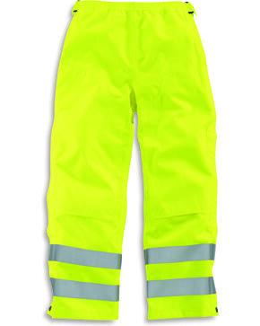 Carhartt Men's High-Visibility Class E Waterproof Pants - Straight Leg, Bright Green, hi-res