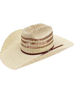 Twister Bangora 3-Tone Cattleman Cowboy Hat, Multi, hi-res