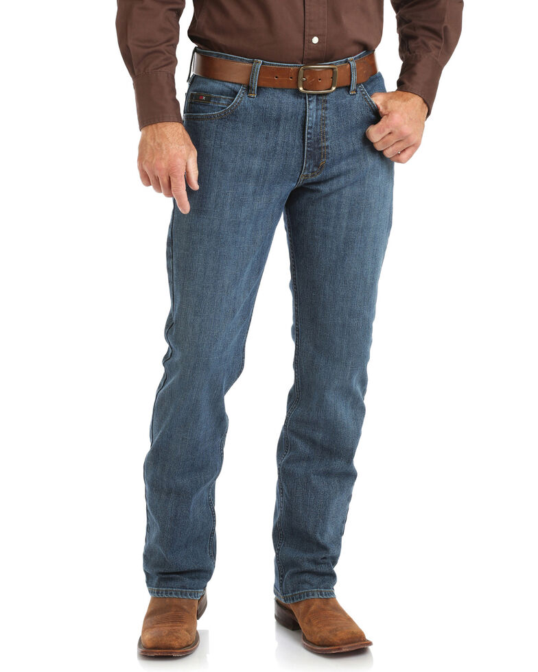 Wrangler 20X Men's Stone Blue Slim Competition Jeans , Blue, hi-res