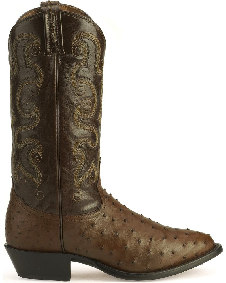 8308271d394 Tony Lama Full Quill Ostrich Western Boots - Medium Toe