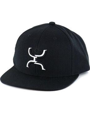 HOOey Men's Chi Baseball Cap, Black, hi-res